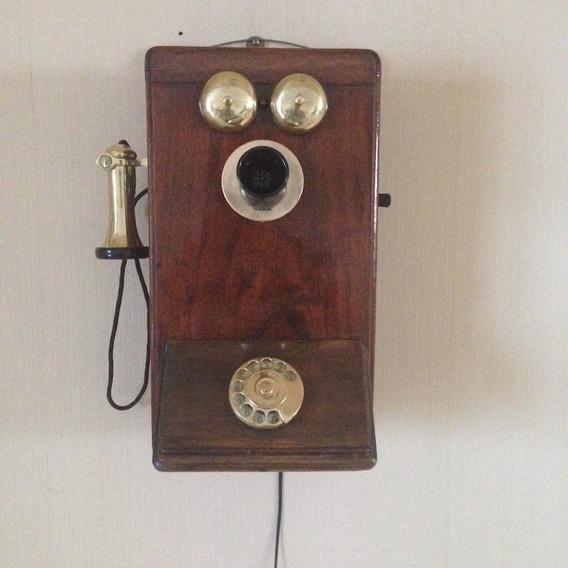 Telefono Antiguo Ingles Gec - Ferrocarriles - Funcionando