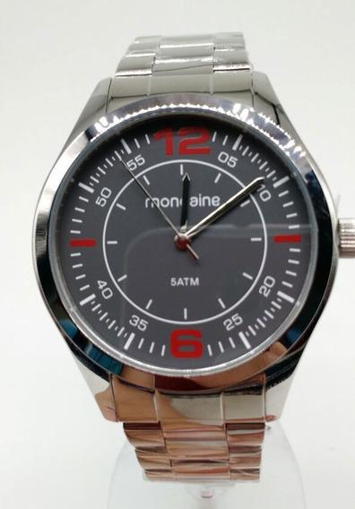 Relógio Mondaine Prata Visor Grafite 78742 G0mvna1