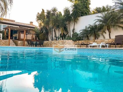 Chácara Com 4 Dormitórios À Venda, 1200 M² Por R$ 1.500.000,00 - Condomínio Chácara Grota Azul - Hortolândia/sp - Ch0117