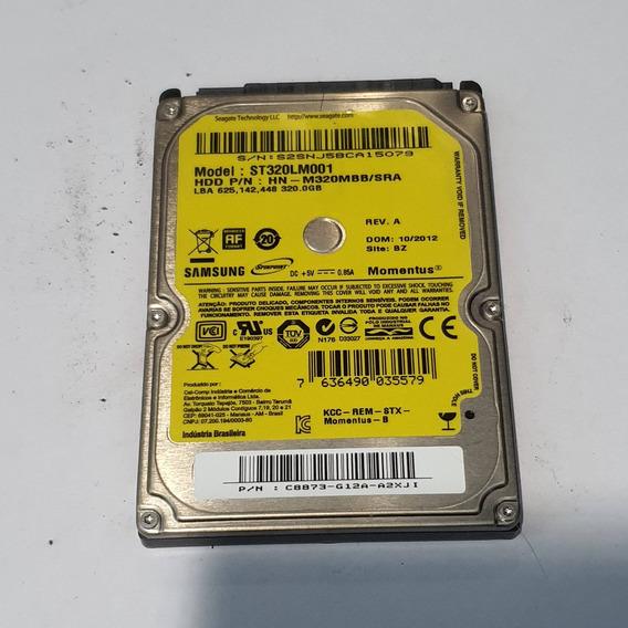 Hd 2,5 5400rpm Samsung Notebook 320 Gb Seminovo St320lm001