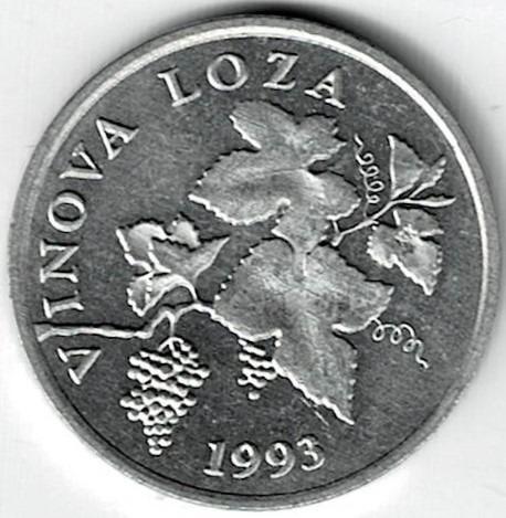 Moneda De Croacia 2 Lipa 1993 Sin Circular