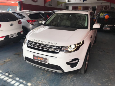 Land Rover Discovery Sport 2.0 Si4 Hse 4wd 2016 (branca)