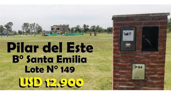 Lote 149 En Venta En Pilar Del Este, Santa Emilia