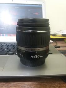 Lente Canon Efs 18-55mm Motivo Da Venda Tenho 3 Lentes Igua