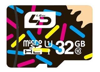 Cartao De Memoria 32gb Micro Sdhc I Ld Classe 10 80m/s 541