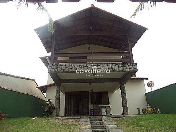 Casa Com 4 Dormitórios À Venda, 293 M² - Guaratiba - Maricá/rj - Ca4242