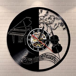 Reloj Musica Clasica Vector Para Corte Archivo Digital