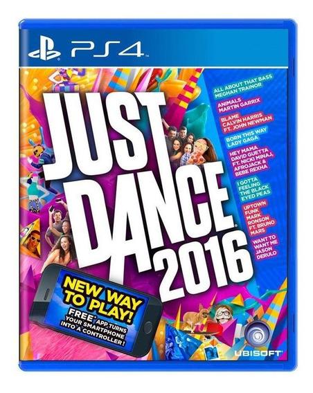Just Dance 2016 Ps4 Mídia Física Pronta Entrega