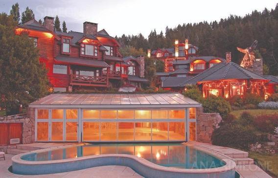 Lujoso Hotel Spa Con Espectaculares Vistas Al Lago Nahuel Huapi