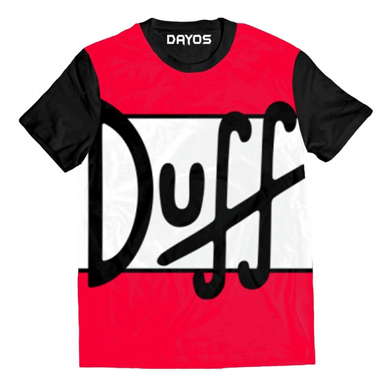 Camisa Camiseta Cerveja Duff Skol Brahma Desenho Algodao