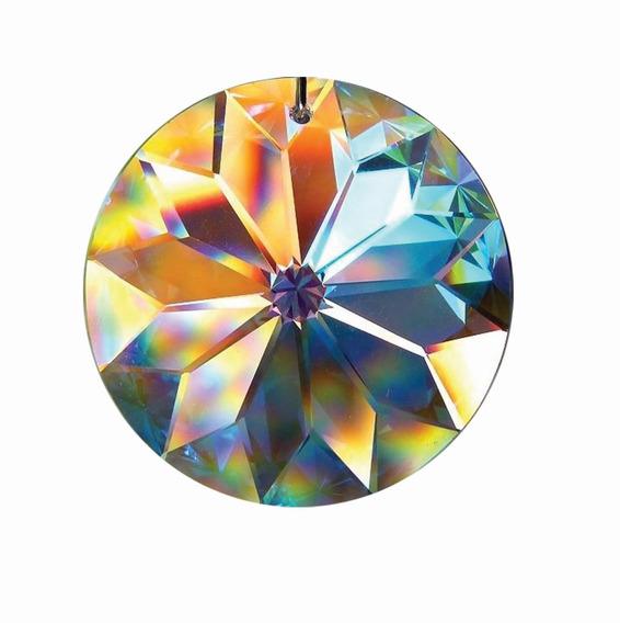 Mandala Cristal - Filtro De Sonhos - Fengshui - Alta Qualid.