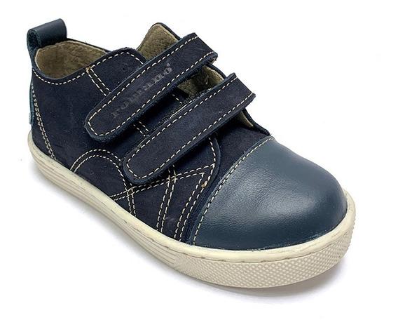 Zapatos Sneakers Romano Niño Marrón Rm 5011 Corpez 44
