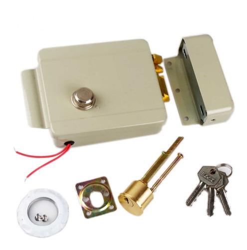 Cerradura Electrica De Aplicar 12v Derecha Yale Bronzen Mdq