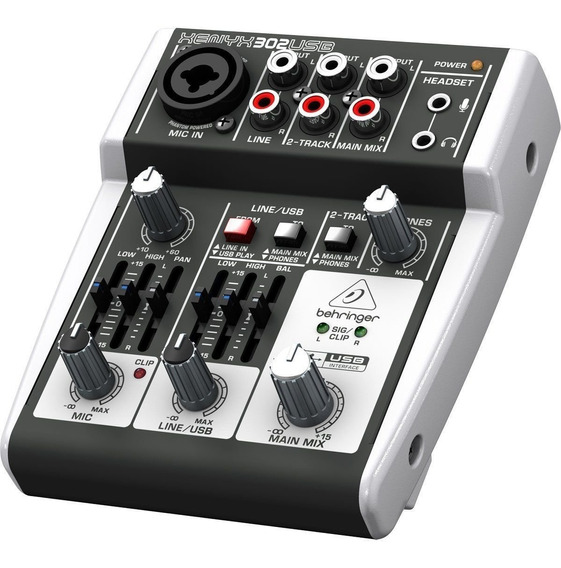Mesa Behringer - Mixer Xenix 302usb