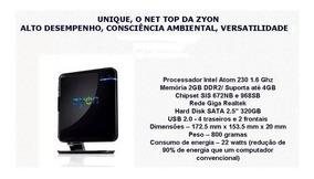 Mini Computador Zyon Unique A230 Intel® Atom 1.60ghz
