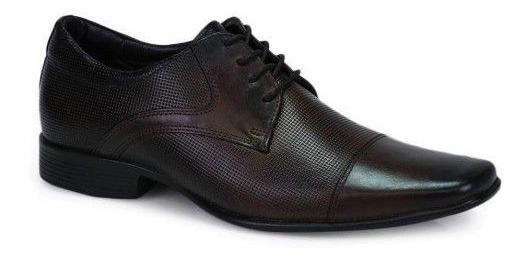 Sapato Masculino Rafarillo Café 100% Couro Tamanho 39