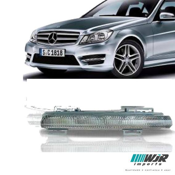 Farol Milha Led Esquerdo Mercedes C180 C220 2012 2013 2014