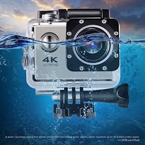 Câmera Profissional Fotografica 4k A Prova Dagua
