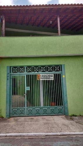 Sobrado Com 3 Dormitórios À Venda, 184 M² Por R$ 460.000,00 - São Miguel Paulista - São Paulo/sp - So1081