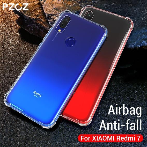 Capa Anti Impacto Xiaomi Redmi 7 Tela 6,26 Pol + Película 5d