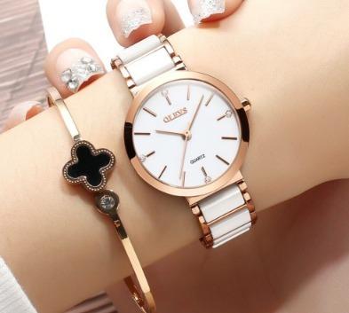 Relógio Das Mulheres De Luxo Feminino
