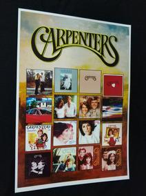 Cartaz Lp The Carpenters Discografia Vinil Carpenters Best
