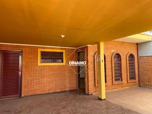 Casa Com 3 Dormitórios À Venda, Jardim Palma Travassos - Ribeirão Preto/sp - Ca1548