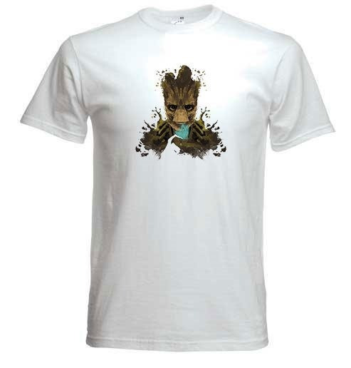 Remera Bebe Groot Hombre Coleccion 1 Firefly