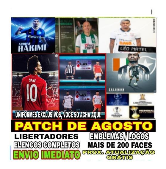 Patch Pes 2019 Ps4 Envio Imediato 2019 + Atualização Grátis