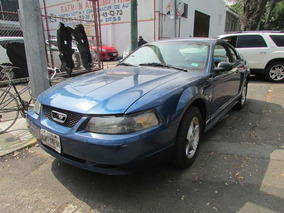 Ford Mustang 4.6 Gt Base Aut Tela Mt Azul 2000 6 Cil.