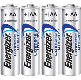 Pilha Aa Lithium Energizer Até 10x Mais ( 240 Pilhas )