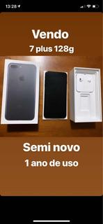 iPhone 7 Plus 128g Semi Novo