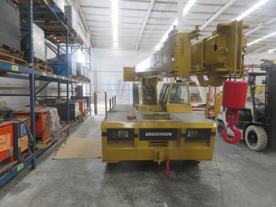 Id-1768 Grua Carry Deck Broderson 18,000 Lb Diesel