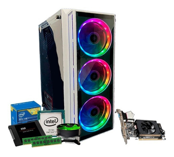 Pc I7 4770, Geforce 2gb 710 Gt, 16gb Ram, Ssd 240gb + Nfe