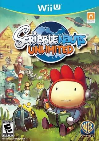 Scribblenauts Unlimited Wiiu - Produto Digital