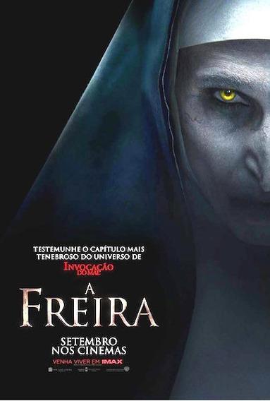 Filme A Freira + Filme Brinde Hd Envio Digital Via Email