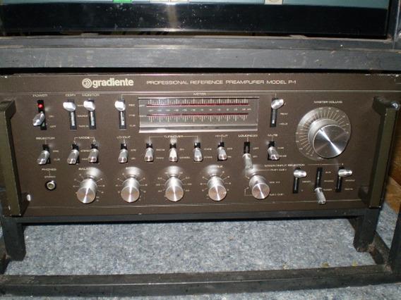 Pré Amplificador Gradiente - P1 - Excelente - Frete Grátis