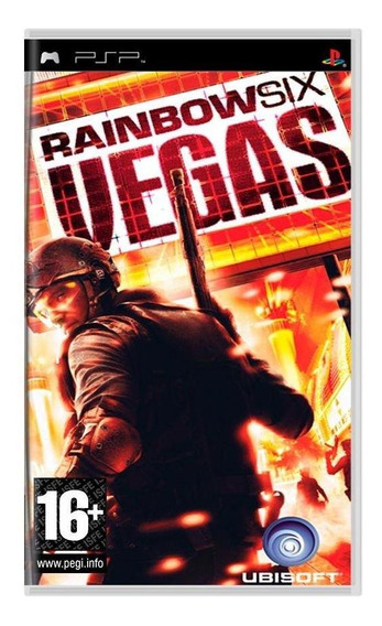 Tom Clancys Rainbow Six Vegas Psp Pronta Entrega