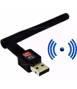 Adaptador Receptor Wireless Usb Wifi 1200mbps Pc E Note - Nf