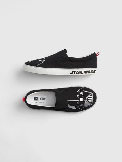 Zapatillas Gap Star Wars Panchas Nuevas C/ Etiqueta Talle 33