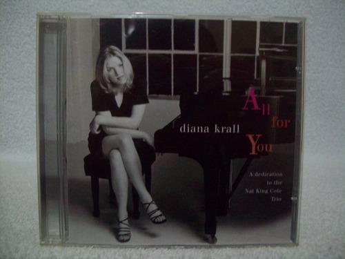 Cd Diana Krall All For You Dedication To Nat King Cole Trio Mercado Livre