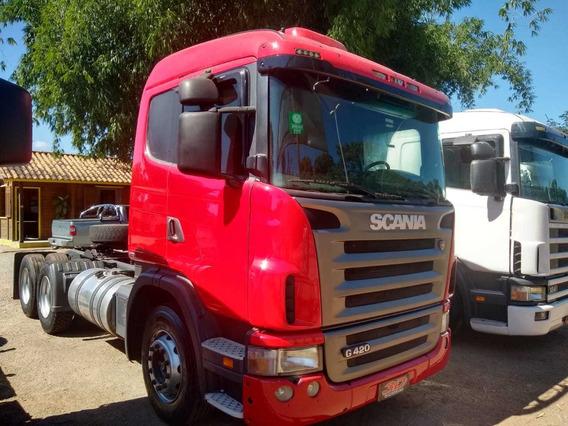 Scania G420 A6x2 Trucada 2009 2010