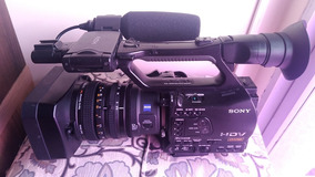 Filmadora Profissional Full Hd Sony Z7 + Gravador Sony Mrc1