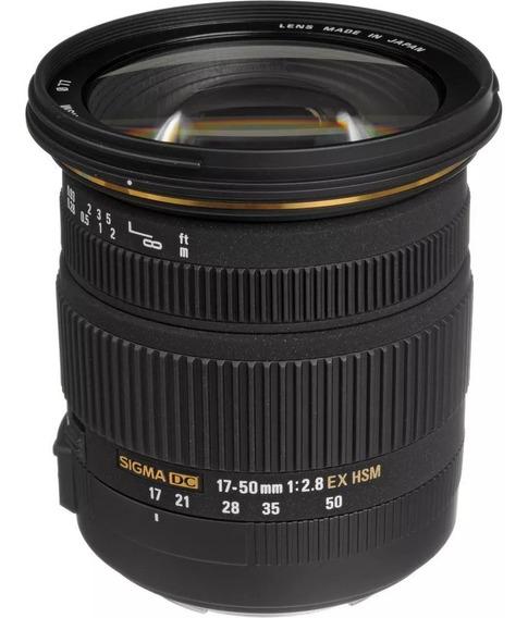 Lente Sigma 17-50mm F/2.8 Ex Dc Os Hsm Para Câmeras Nikon