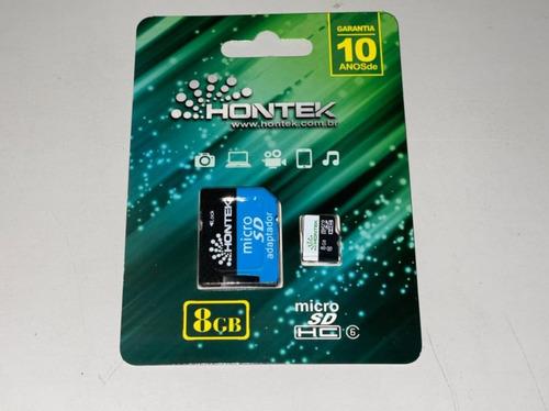 Imagem 1 de 3 de 100 X Cartão Micro Sd Hontek 8gb (100 Unidades)