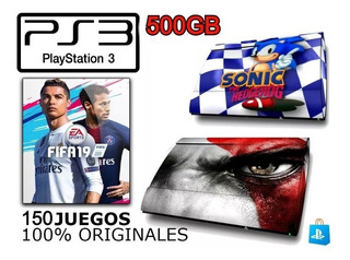 Playstation 3 Completas Llenas De Juegos 500gb Original