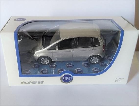 Miniatura Fiat Idea Norev Escala 1/43 - Raridade !!!