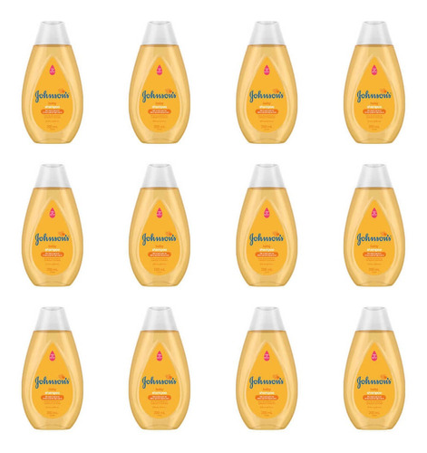 Johnsons Baby Tradicional Shampoo 200ml (kit C/12)