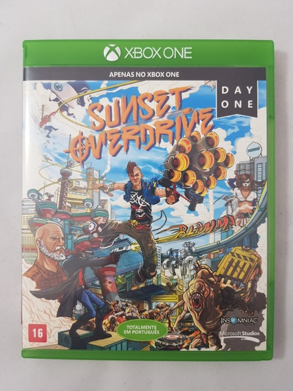 Sunset Overdrive Xbox One Mídia Física Pronta Entrega