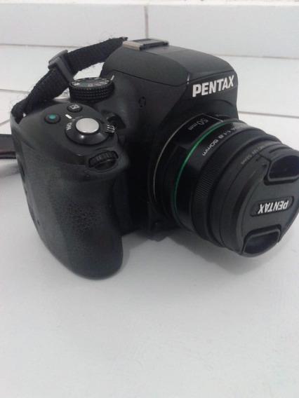 Promoção Câmera Profissional Pentax K-50 + 3 Lentes